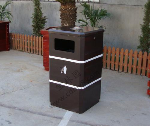 BB1-002 全钢单桶垃圾桶