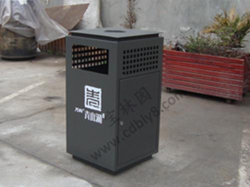 BB1-003 全钢单桶垃圾桶