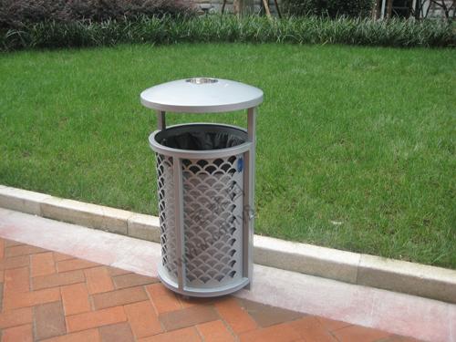 BB1-004   全钢单桶垃圾桶