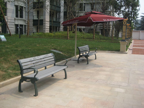 BA1-003塑胶木休闲椅