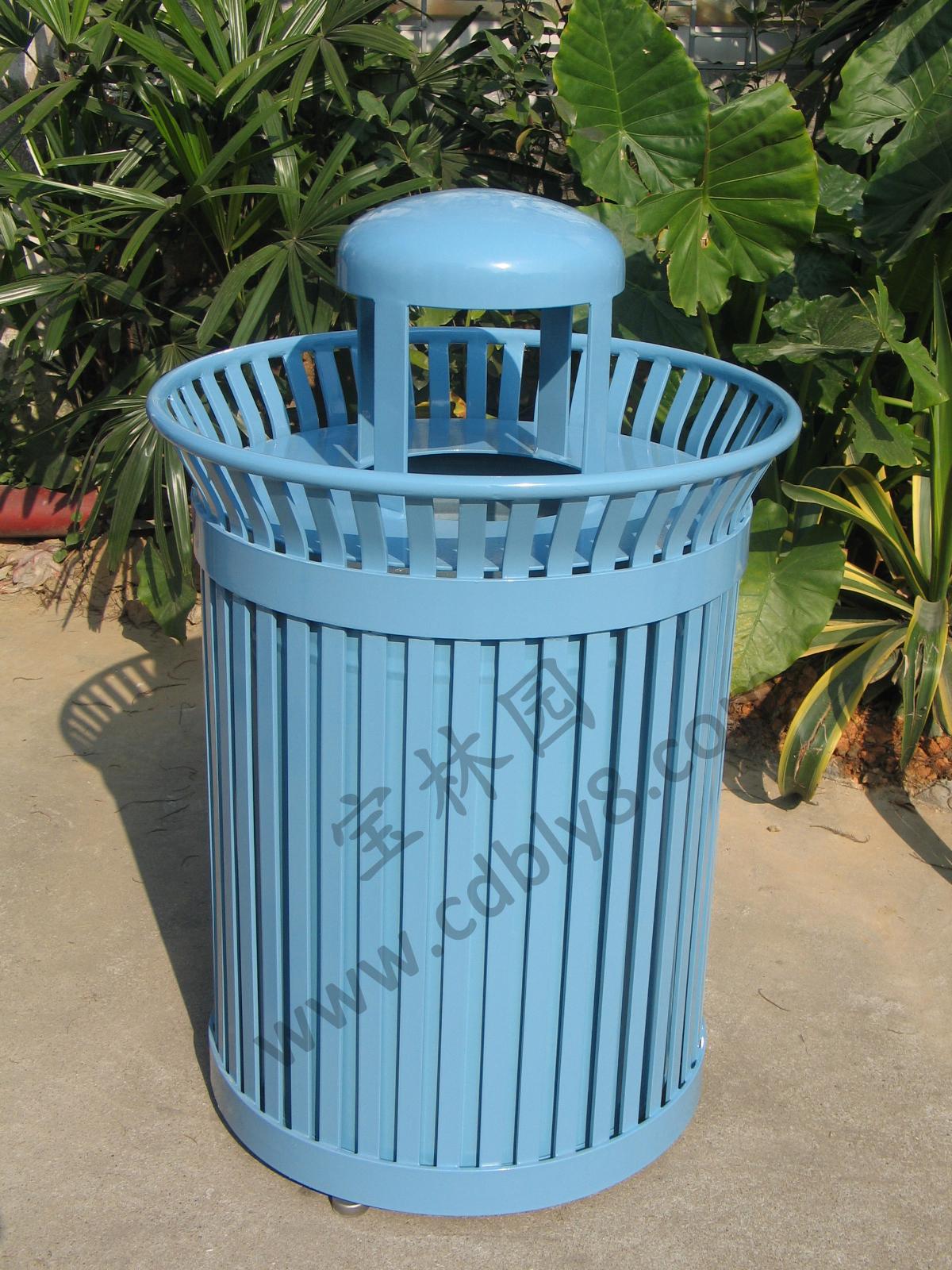 BB1-028全钢单桶垃圾桶